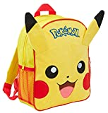 pokemon pikachu - zaino felpato 3d, per bambini, pikachu (giallo) - mnck10221