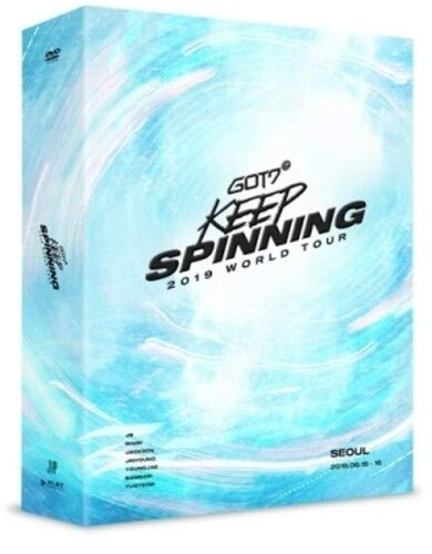 2019 World Tour: Keep Spinning in Seoul ( 3 x DVD incl. 108pgPhotobook, 8 mini-posters + clear Photocard) [USA]