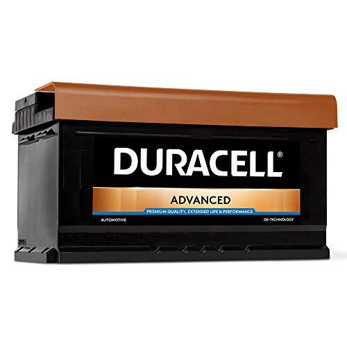 DURACELL Advanced Autobatterie 80AH 12V Starter Batterie (80AH)
