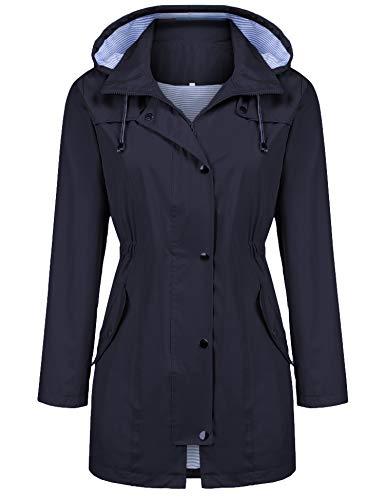Kikibell Women's Lightweight Waterproof Jacket Now $14.80