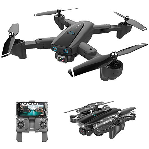 GoolRC CSJ S167 GPS Drone, 5G WiFi FPV RC Drone with Camera 4K HD Gesture Photos Video, Auto Return Home, Altitude Hold, Follow Me RC Quadcopter for Adults