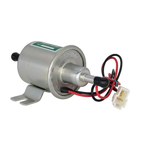 Elektrische Kraftstoffpumpe 12 V Universal Automotive Modified HEP-02A Heavy Duty Kraftstoffpumpe Metall für Benzin Diesel RICH CAR®