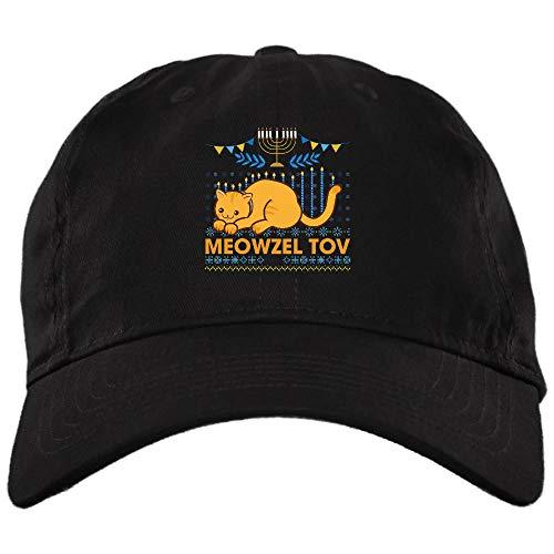 Meowzel Tov Hanukkah Cat Chanukah Hat,Dad Cap