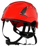 3M SecureFit Safety Helmet, X5005V-ANSI, Red, Vented