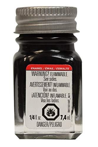 Testors 1147TT Black, Gloss, 0.25 fl oz Enamel Paint