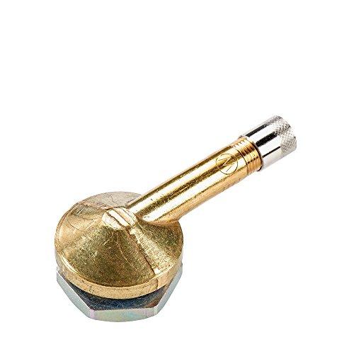 10x Felgen Ventil LKW Metallventil V3. 12. 1, Ventileinsatz montiert Metall Ventil, Ventileinsatz Autoreifen Felgen