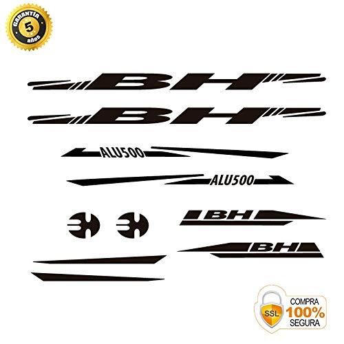 Pegatinas para Bici - Sticker Decorativo Bicicleta - Juego de Adhesivos en Vinilo para Bici BH ALU 500 Pegatinas Cuadro Bici