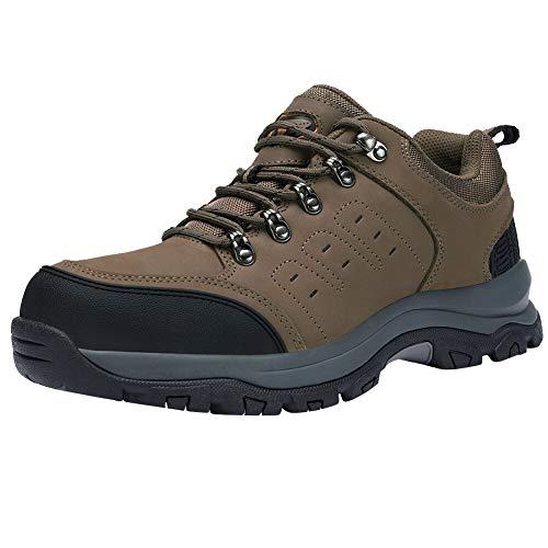 CAMEL CROWN Wanderschuhe Herren Outdoor Trekkingschuhe Wanderhalbschuhe Männer Sneakers rutschfest Hiking Schuhe Low Top Wanderstiefel