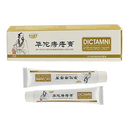 Hemorrhoids Ointment Cream, Chinese cream HuaTuo, Shrink Swollen Hemorrhoid Tissue, Reduce Heat and Uncomfortable, Relieve Hemorrhoid Pain, Clear Away Bad Materials, Remove Bad Tissues (A)