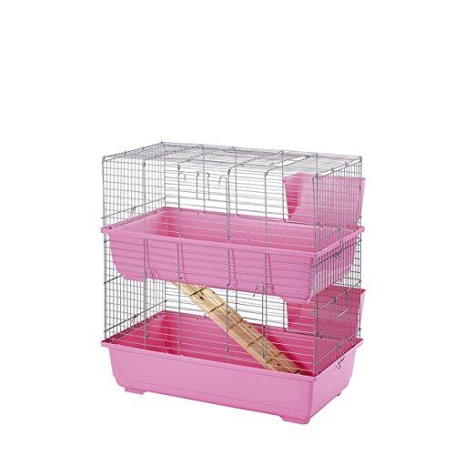 Jaula de Dos Pisos Little Friends para Conejos