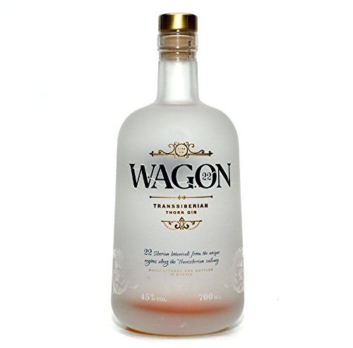 WAGON 22 - Transsibirischer Premium Gin aus Russland - 22 Botanicals - 45% - 700ml