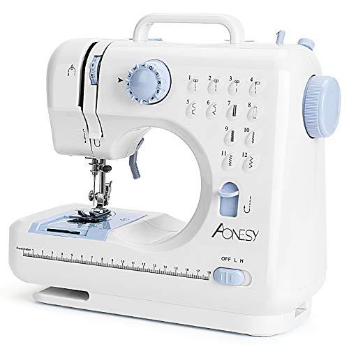 Máquina de coser portátil AONESY Máquina de coser 12...