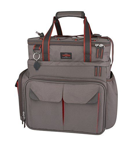 THERMOS Insulated Tackle Bag with Lunch Top, Large