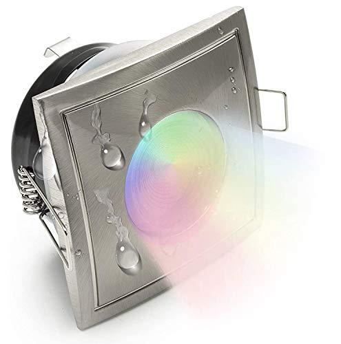 Strahler IP65 LED 5W Farblichttherapie GU10 Duschkabine Türkisches Bad RGB Multi Farbe 220V