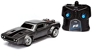 """Jada Toys Fast & Furious 8 7.5"""" RC - Ice Charger Vehicles"""