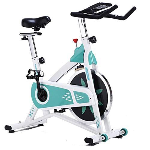 ZCYXQR Deportes Bicicleta estática Vertical Silenciosa Bicicleta estática giratoria Equipo de Fitness para el hogar Gimnasio para el hogar Gimnasio (Deporte de Interior)