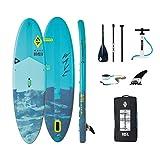 Aztron Wave, iSUP Unisex Adulto, Azzurro, 305x80x15