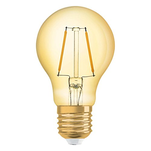 Preisvergleich Produktbild Osram LED Vintage 1906 Lampe,  Sockel: E27,  Warm White,  2500 K,  2,  50 W,  2.5-W-Glühbirne