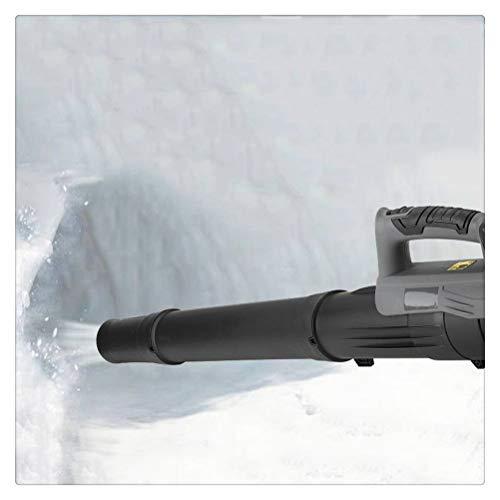 Aiglen Schneefräse , Elektrische Luftgebläse Akku-Schneefräse Sammler Staubblatt Blaskehrmaschine Gartengeräte Für 18V Li-Ionen-Batterie