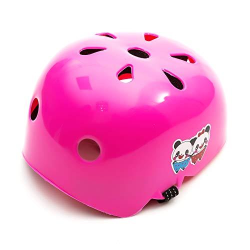 Universal Niña Infantil Rosa Protector Casco 2-5 Años Scooter Skate Patines Cuchillas...