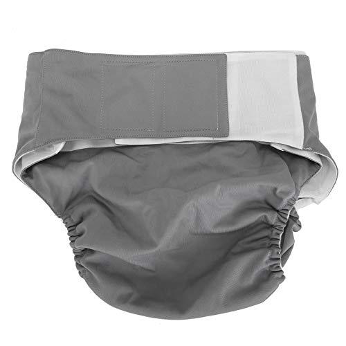 Pañales de tela lavables, Pañal de cubierta Reutilizable Pañal suave ajustable Lavable Secado rápido para personas con incontinencia, Pañal de pañal reutilizable para adultos(S)