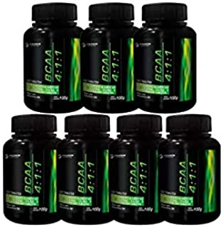 Kit 7 Bcaa 4:1:1 120 Tabletes Fusion Nutrition Preço Atacado