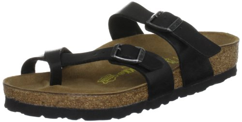 Birkenstock Womens Mayari Graceful Licorice Birko-Flor Sandals 38 EU
