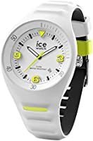 Ice-Watch P. Leclercq White Yellow 017594 Herenhorloge met siliconen armband (medium)