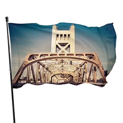 N/A Tower Bridge Sacramento California - Lienzo resistente a