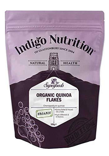 Indigo Herbs Flocons de Quinoa Bio 500g