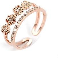 JRosee Swarovski Element Ring for Women Adjustable Size