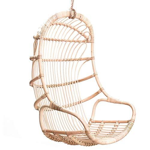 Hanging Basket Rattan Hanging chair Home Balcony Garden Indoor Real Rattan Swing