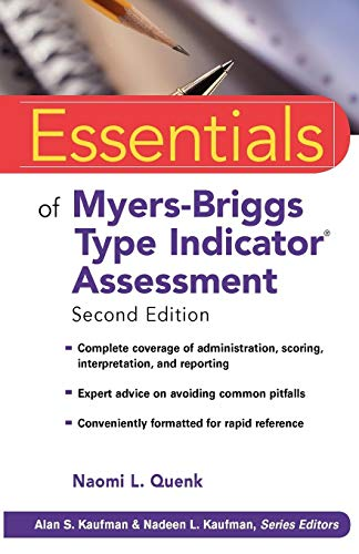 Essentials Myers-Briggs Type Indicator Assessment