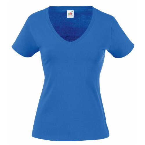 Fruit of the Loom Camiseta, Mujer, Azul, X-Small
