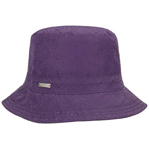 Seeberger Rain Reflect Stoffhut Damenhut Regenhut Outdoorhut Fischerhut Bucket Hat (One Size - violett)
