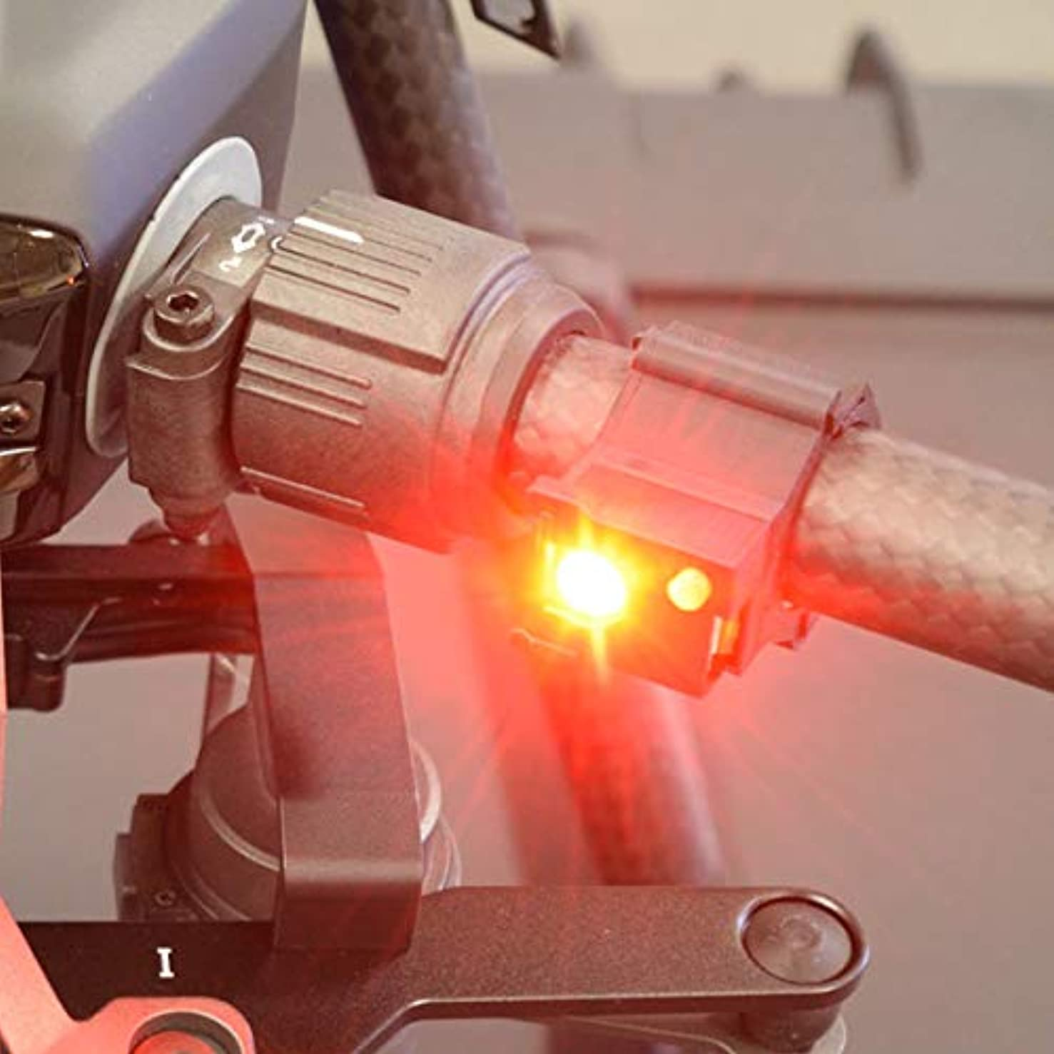 DroMight? Drone Strobe Light Four Pack for DJI Matrice 200 and DJI Matrice 210 with Lights and Mounting Brackets