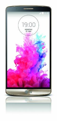 LG G3 Smartphone (5,5 Zoll (14 cm) Touch-Bildschirm, 16 GB Speicher, Android 4.4) gold