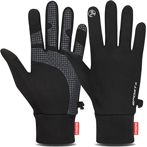 Cevapro Lightweight Gloves Touchscreen Running Gloves Winter Gloves Liner for Running Cycling Working Hiking Driving