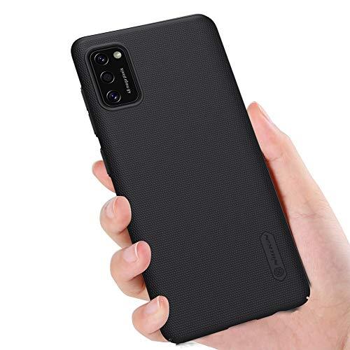 SHINEZONE Thin Fit Kompatibel mit Samsung Galaxy A41 Hülle, Slim PC Schale Hardcase Leicht Dünn Schutzhülle Handyhülle Case für Samsung Galaxy A41 (Schwarz)