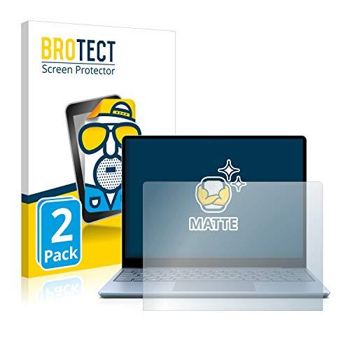 BROTECT 2X Entspiegelungs-Schutzfolie kompatibel mit Microsoft Surface Laptop Go Bildschirmschutz-Folie Matt, Anti-Reflex, Anti-Fingerprint