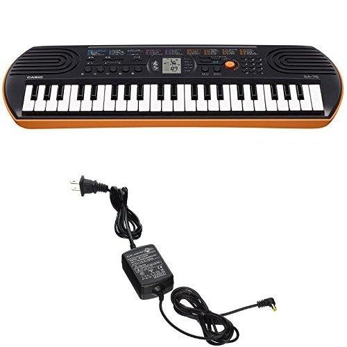 Casio SA76 44 Keys 100 Tones with World Tour Power Supply