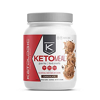 Ketologic Keto Meal Replacement Mct Shake