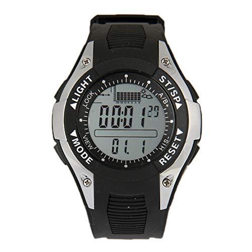 Xyamzhnn Digitaluhren for Männer, Herren-Digitaluhr, Big Uhren for Männer, Angeln Uhr, Angeln Uhren, Barometer-Digital-Fischerei-Uhr mit Altimeter/Thermometer/Wettervorhersage/Zeit for Frauen Kl