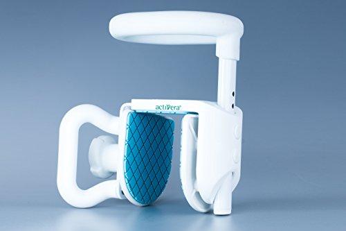 activera® Badewannengriff Einstiegshilfe für die Badewanne verstellbar bis 120 kg Belastbarkeit