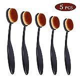 Crafting Ink Blending Brush Set 5 Pcs Wide Application Assortment Crafter Soft Handel Blending Brushes for...