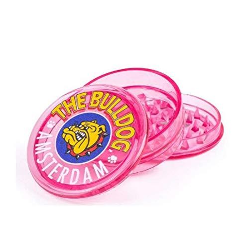 The Bulldog Amsterdam - Molinillo de especias de plástico rosa