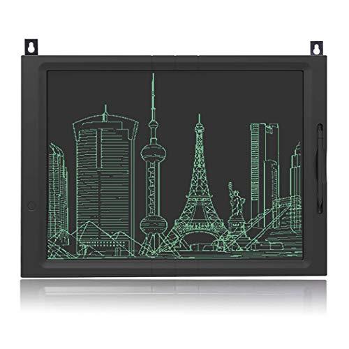 JFUNE Tableta de Escritura LCD, 20 Pulgadas LCD eWriter Tableta portátil LCD Almohadilla Bloqueo Tablero de Dibujo para Niños