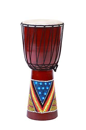 Tamburo Djembe 20cm Bongo in Legno Professionale Altezza Commercio
