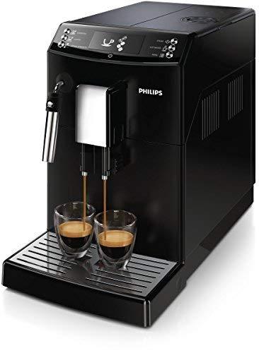 Philips 3100 series EP3510/00 Kaffeevollautomat mit AquaClean Filter und Milchaufschaumdüse - Schwarz