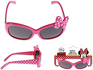 Disney - Minnie Mouse Premium Gafas de Sol Montañismo, Alpinismo y Trekking Infantil, Juventud Unisex, Rosa (Rosa), Talla Única